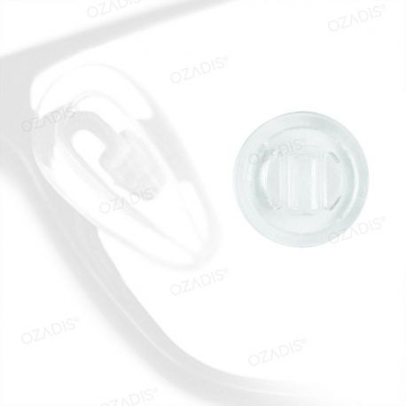 Ultrathin silicone nose pads