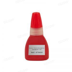 Encre spéciale rouge