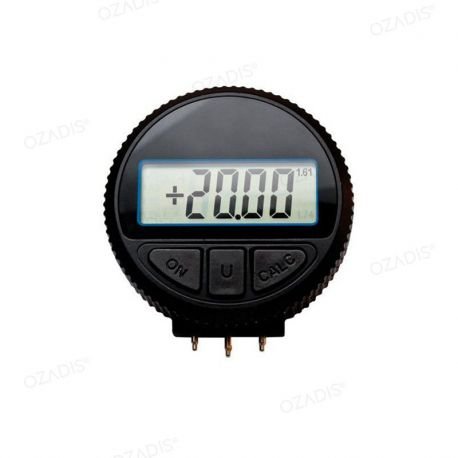 Digital radian clock