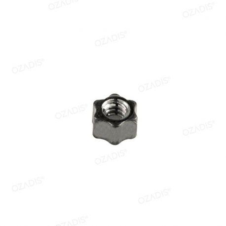 Standard star nuts - Silver