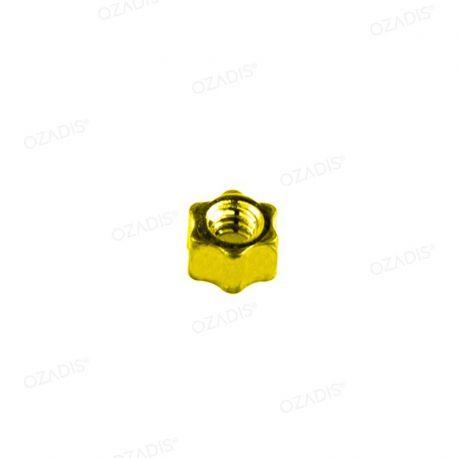 Standard star nuts - Gold