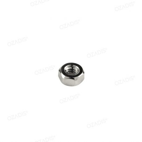 Standard hexagonal nuts - Silver