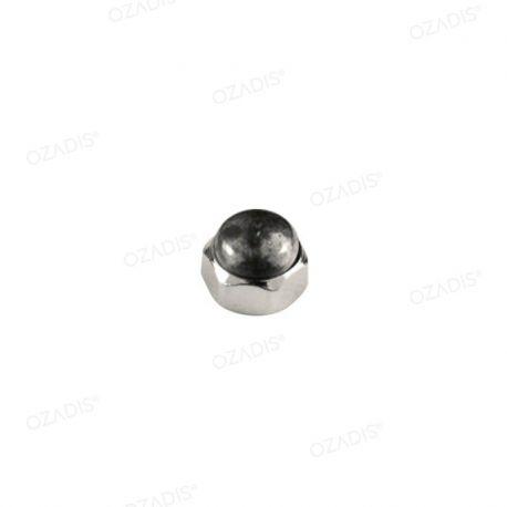 Hexagonal cap nuts - Silver