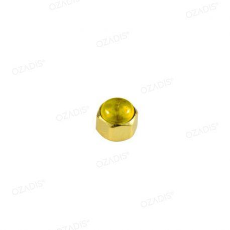 Hexagonal cap nuts - Gold