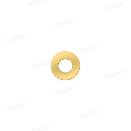 Rondelles métal - Blanc