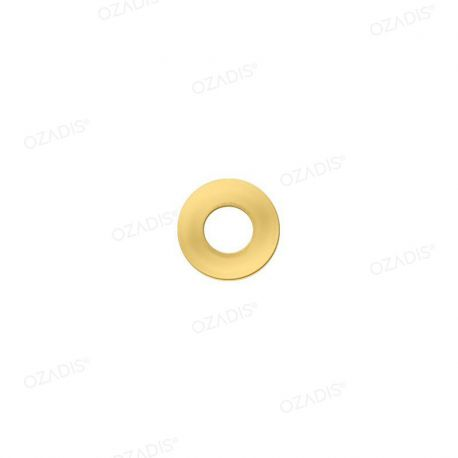 Clip metal washers - Gold
