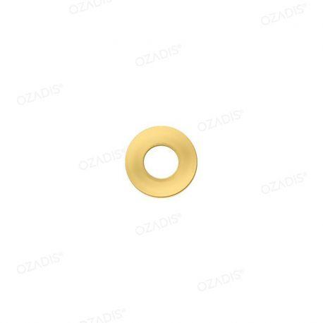 Rondelles cuvette métal - Doré
