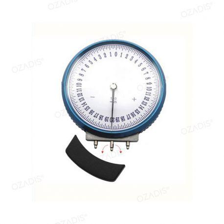 Sphéromètre à simple index