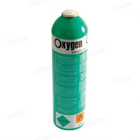 Oxygen in disposable canister